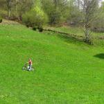 Cu bicicleta,pensiunea La Craita, Bran