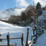 Iarna pe ulita,pensiunea La Craita, Bran