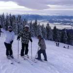 Ski la pensiunea La Craita, Bran