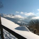 Vedere panoramica,pensiunea La Craita, Bran