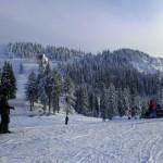 Vreme buna de ski, pensiunea La Craita, Bran